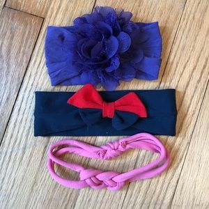 Other - NWOT Lot of baby/toddler headbands